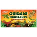 Origami Dinosaurs Kit,折纸恐龙工具包 英文原版手工制作图书