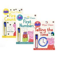 【首页抢券300-100】Practise With Peppa Wipe-Clean Maths Collection