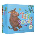 我的第一本咕噜牛・玩具书(全8册):基础认知/拼图书/游戏书
