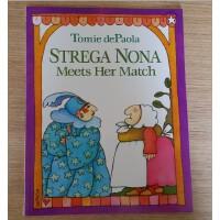 ��S包�] Strega Nona Meets Her Match 巫婆奶奶遇到�κ� 美���W前教育教科��、�D����大�� �P迪