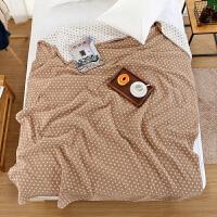 纯棉纱布毛巾被双人单人夏季午休沙发毯柔软舒适毛巾毯空调毯床单
