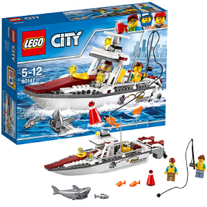 [当当自营]LEGO 乐高 City城市系列 渔船 积木拼插儿童益智玩具60147