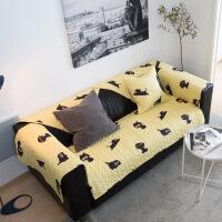 北欧沙发垫子动物猫系百搭棉加厚棉坐垫美式四季可用