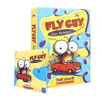 苍蝇小子5册合集(含正版CD) 英文原版 Fly Guy Fun Readers