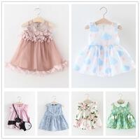 童装女童公主裙夏装儿童裙子0-1-2-3岁婴儿宝宝连衣裙女