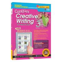 SAP Conquer Creative Writing 3 三年级攻克创意写作系列 9岁 新加坡新亚出版社教辅 英文