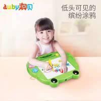 澳贝儿童画板磁性写字板宝宝绘画画板1-3岁小孩玩具彩色涂鸦板