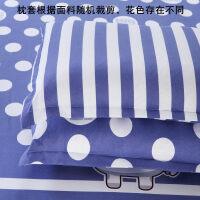 枕套 枕套单个单人枕头套一个床上用品 一对拍二 大白 48cmX74cm