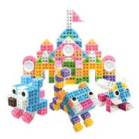 品果积木糖果启智宝盒立体拼插拼搭儿童益智玩具3岁以上