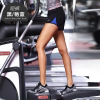 跑步运动短裤女夏季薄款透气速干健身短裤女士防走光训练瑜伽短裤