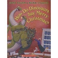 【首页抢券300-100】How Do Dinosaurs Say Merry Christmas 恐龙怎么说圣诞快乐