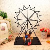 创意摆件家居饰品酒柜装饰品客厅卧室树脂工艺品结婚礼物娃娃摆设