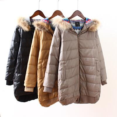 N4羽绒服PU皮衣女中长款新款冬季加厚连帽时尚大毛领外套1.15 发货周期:一般在付款后2-90天左右发货,具体发货时间请以与客服商的时间为准
