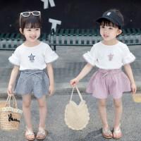 女童套装裙2019新款0-1岁2婴童女宝宝3韩版时髦4潮衣两件套夏