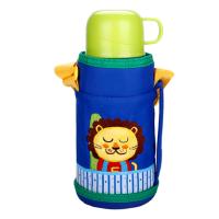 富光儿童保温杯600ml小学生女男童不锈钢小口直饮防摔宝宝水壶便携水杯