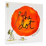 点 The Dot 畅销绘本 英文原版 获奖图画书 彼德雷诺兹 家庭教育 激发孩子创意想象力 英语启蒙绘本亲子共读 P