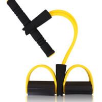 家用脚蹬拉力器仰卧起坐器材健身运动减肥减肚子瘦腰收腹肌训练器