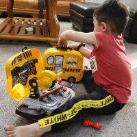 儿童工具箱玩具套装宝宝过家家螺丝拆卸维修理箱男孩益智3-67周岁j5r