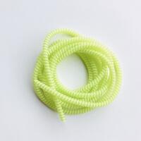 手机充电器保护线数据线保护套oppo苹果vivo充电线保护绳缠绕线器 保护数据线 绳 果绿色