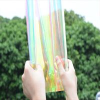 炫彩玻璃贴膜幻彩膜彩色变色膜商场橱窗爆装饰贴纸窗户彩虹膜生活日用创意家居新品