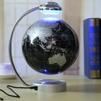 礼品地球仪摆件居家办公桌面创意磁悬浮自转带光装饰办公生日节日礼物