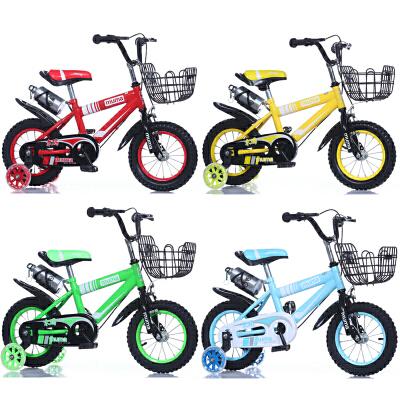 儿童自行车3岁宝宝脚踏单车2-4-6岁男孩女孩小孩6-7-8-9-10岁童车