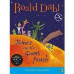 詹姆斯和仙桃(插画大开本故事书,罗尔德达尔作品)英文原版 James and the Giant Peach