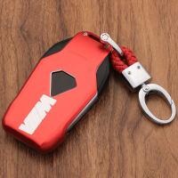 汽车钥匙扣包钥匙汽车铝合金属壳钥匙包东风钥匙汽车用品适用黑线路虎黑色挂件