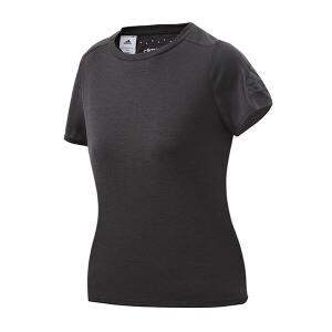 adidas阿迪达斯女装短袖T恤2018运动服B45814