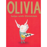 Olivia Helps with Christmas (Classic Board Books)奥莉薇的圣诞节(卡板