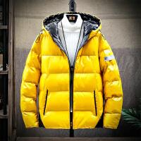 棉衣外套男士冬季2019新款韩版潮流短款棉服冬季加厚