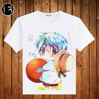 黑子的篮球T恤 动漫周边二次元 黑子哲也二号衣服男女短袖T恤 X