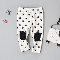 童装女宝宝打底裤女童裤子0-1-2-3-4岁半婴儿长裤可开裆