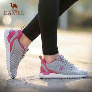 camel骆驼运动鞋女 2018新品透气轻便跑步鞋减震耐磨跑鞋休闲鞋