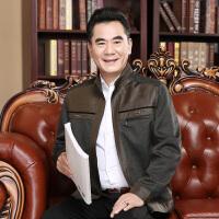 新中年男士夹克薄款外套30秋季休闲40中老年立领春秋爸爸50岁