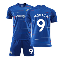 切尔西球衣18-19长袖足球服套装男儿童训练服队服定