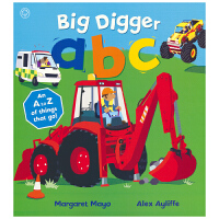 Mayo - Awesome Engines Big Digger ABC 大挖掘机 ABC 字母学习 交通工具学字母