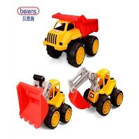 工程车玩具工程车儿童玩具车大号滑行车挖土机挖掘机滑行车