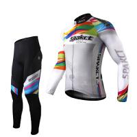 新款 男女自行车服 普罗旺斯长袖骑行服骑行装备