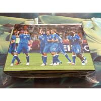 意大利国家队球星套卡 世界杯足球卡 球迷生日纪念礼物用礼奖品 黑色