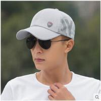 韩版男士防晒遮阳帽子网眼鸭舌帽潮棒球帽太阳帽户外透气凉帽 可礼品卡支付
