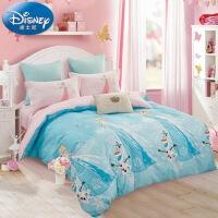 Disney/迪士尼 纯棉四件套全棉卡通1.5米床儿童学生公主风床品