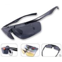 大气精致司机镜偏光可近视太阳镜掀片换片户外运动防风镜钓鱼眼镜