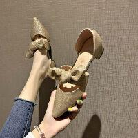 户外时尚女士凉鞋休闲舒适中跟鞋气质百搭凉拖鞋女潮