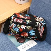 女士斜跨包潮单肩斜挎女包包中老年女包休闲小包包