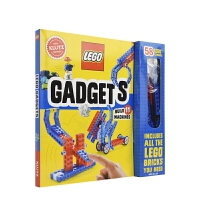 【首页抢券300-100】Lego Gadgets 乐高 可动小装置 手工DIY玩具操作书 益智游戏