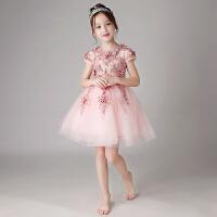 儿童礼服公主裙女孩花童钢琴演出服主持人生日晚礼服春夏