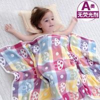 婴儿浴巾宝宝新生儿童纯棉纱布被子洗澡柔软吸水盖毯春夏季毛巾被