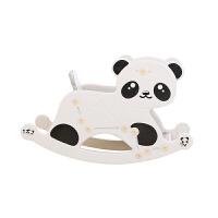 儿童摇马宝宝座椅两用摇摇马摇椅带音乐塑料玩具小木马周岁礼物 熊猫摇椅二合一