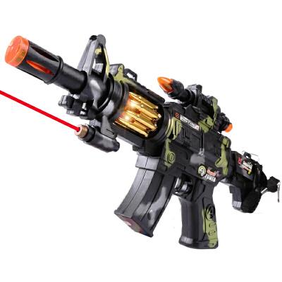 儿童电动玩具枪声光音乐震动2-6岁男生小孩冲锋抢宝宝女男孩礼品  、望远镜